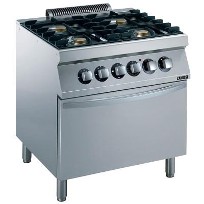 Zanussi Oven Ranges EVO700 800mm 4 Burner