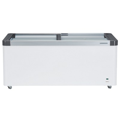 Liebherr Flat Glass Slide-Lid Chest Freezer