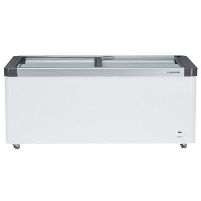 Liebherr Flat Glass Slide-Lid Chest Freezer