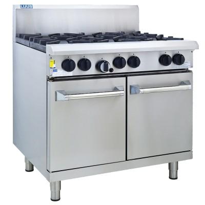 Luus Professional Series 6-burner range