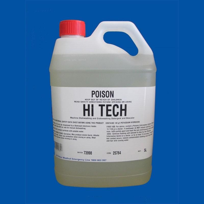 Hi Tech Dishwasher & Glass Washer Detergent