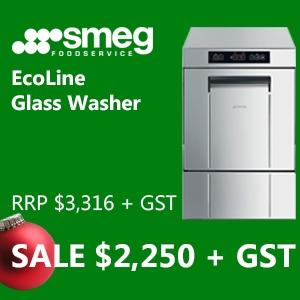 Smeg EcoLine Glass Washer Sale